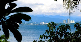Things To Do In Kota Kinabalu - The City From Sepanggar Island Peak