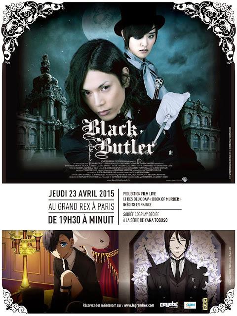 Black Butler : soirée spéciale au Grand Rex