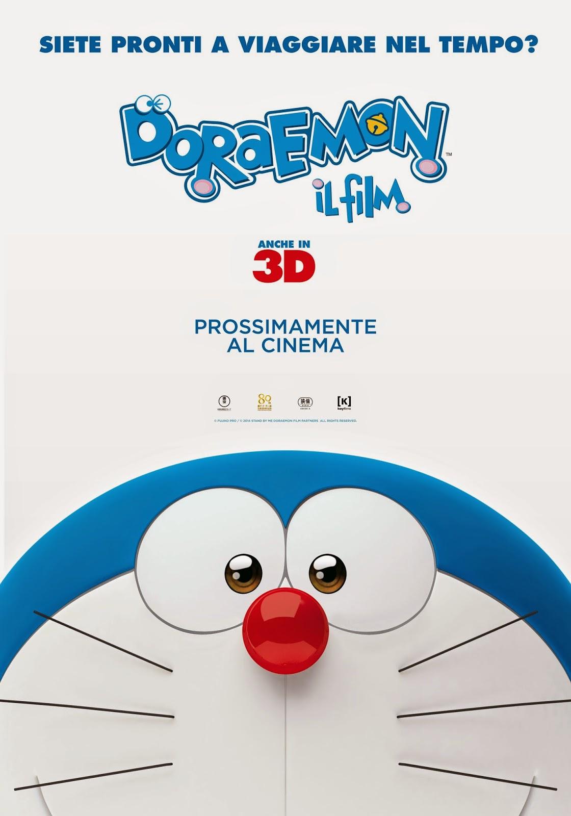 DORAEMON 3D, IL FILM IN COMPUTER GRAFICA NEI CINEMA IN ITALIANO