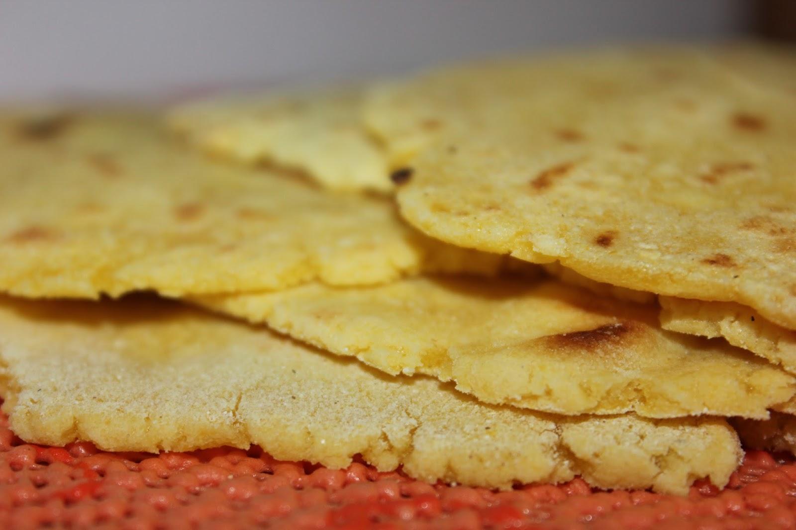 Кукурузные лепешки рецепт