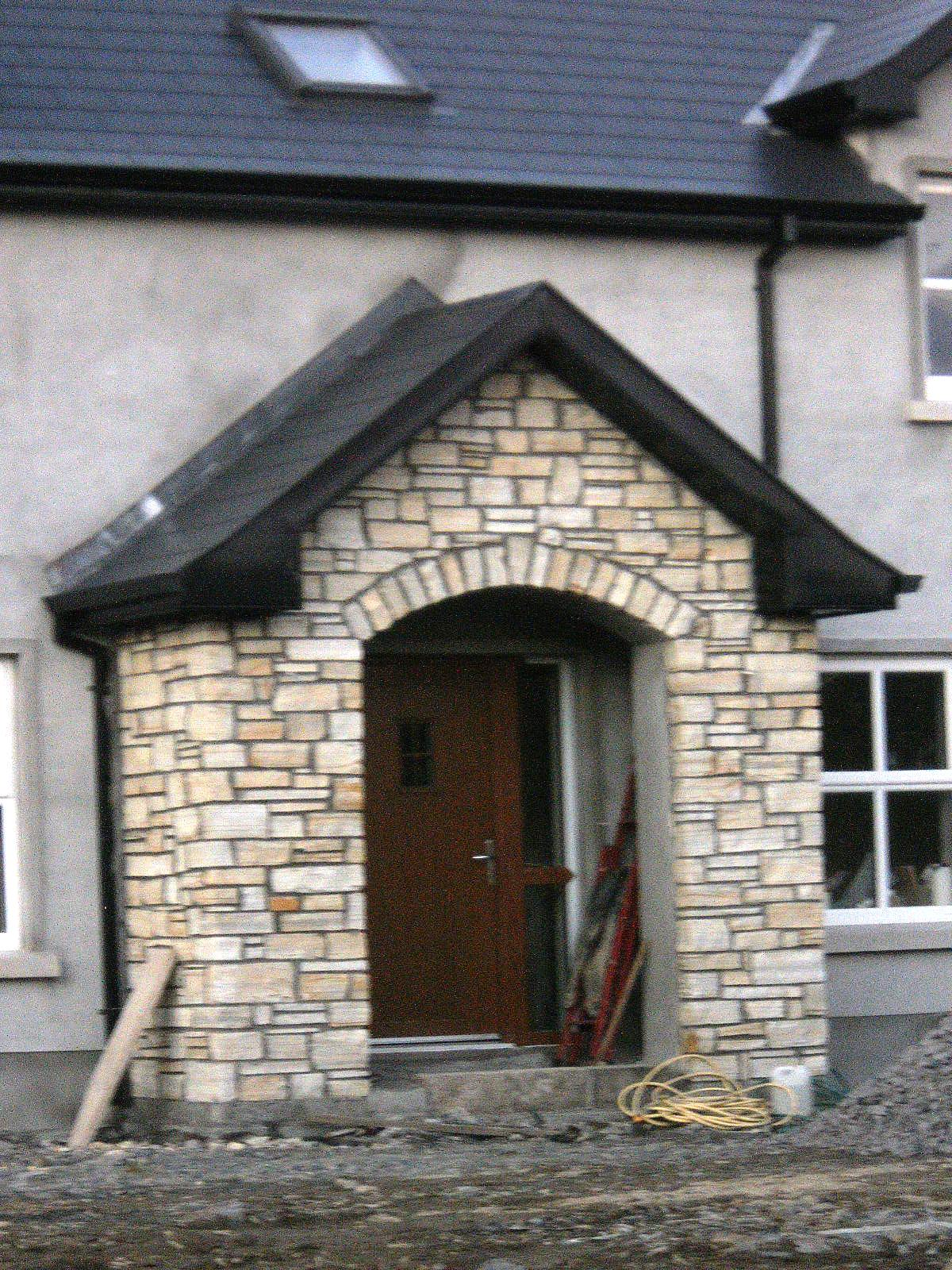 My porch has stone all things nice for Front porch designs with stone
