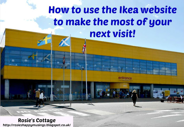 How to use the Ikea website to make the most of your next visit!