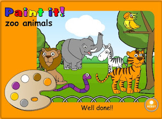 http://learnenglishkids.britishcouncil.org/en/word-games/paint-it/zoo-animals