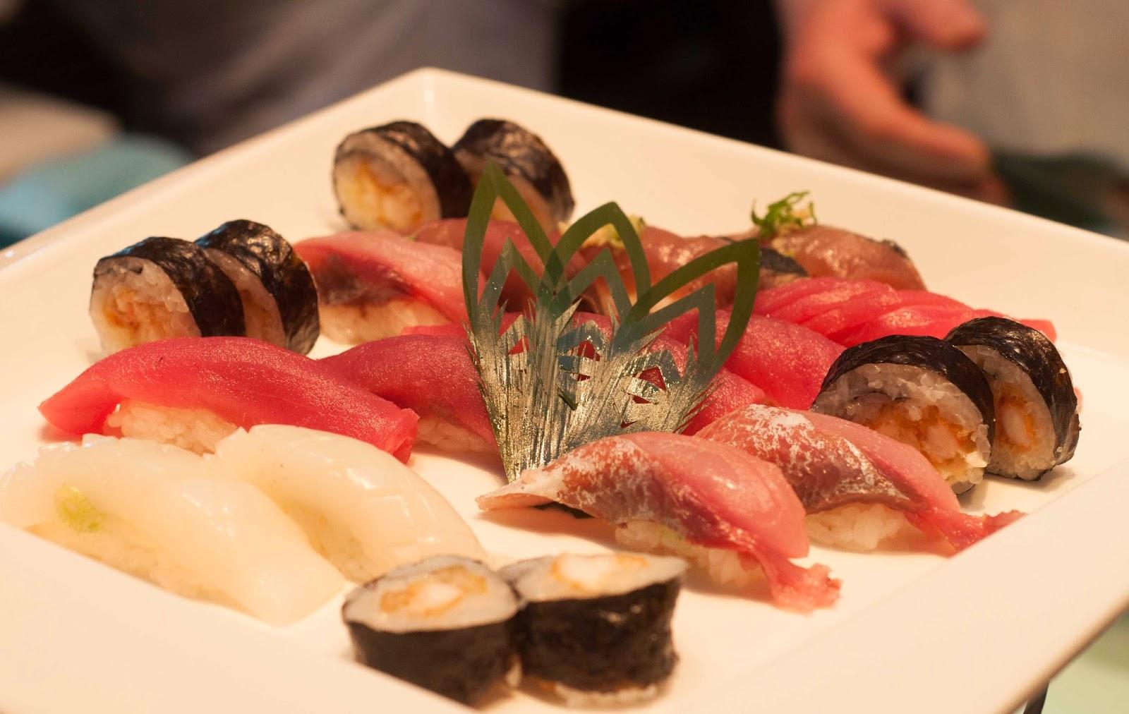 Sushi @ Spectra, Leela Palace