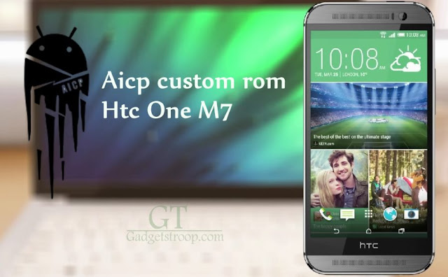 Aicp custom rom on sprint Htc one M7 (M7spr)