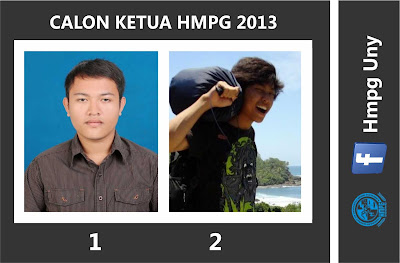 Calon Ketua HMPG 2013