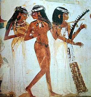 Tumba de Nakht - Arte egipcio