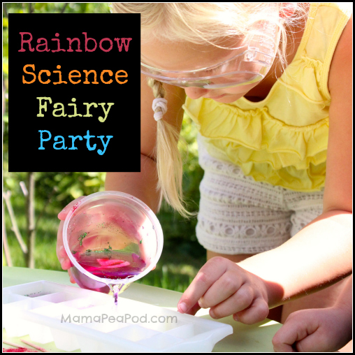 Rainbow Magic Fairy Science Birthday Party - cover image
