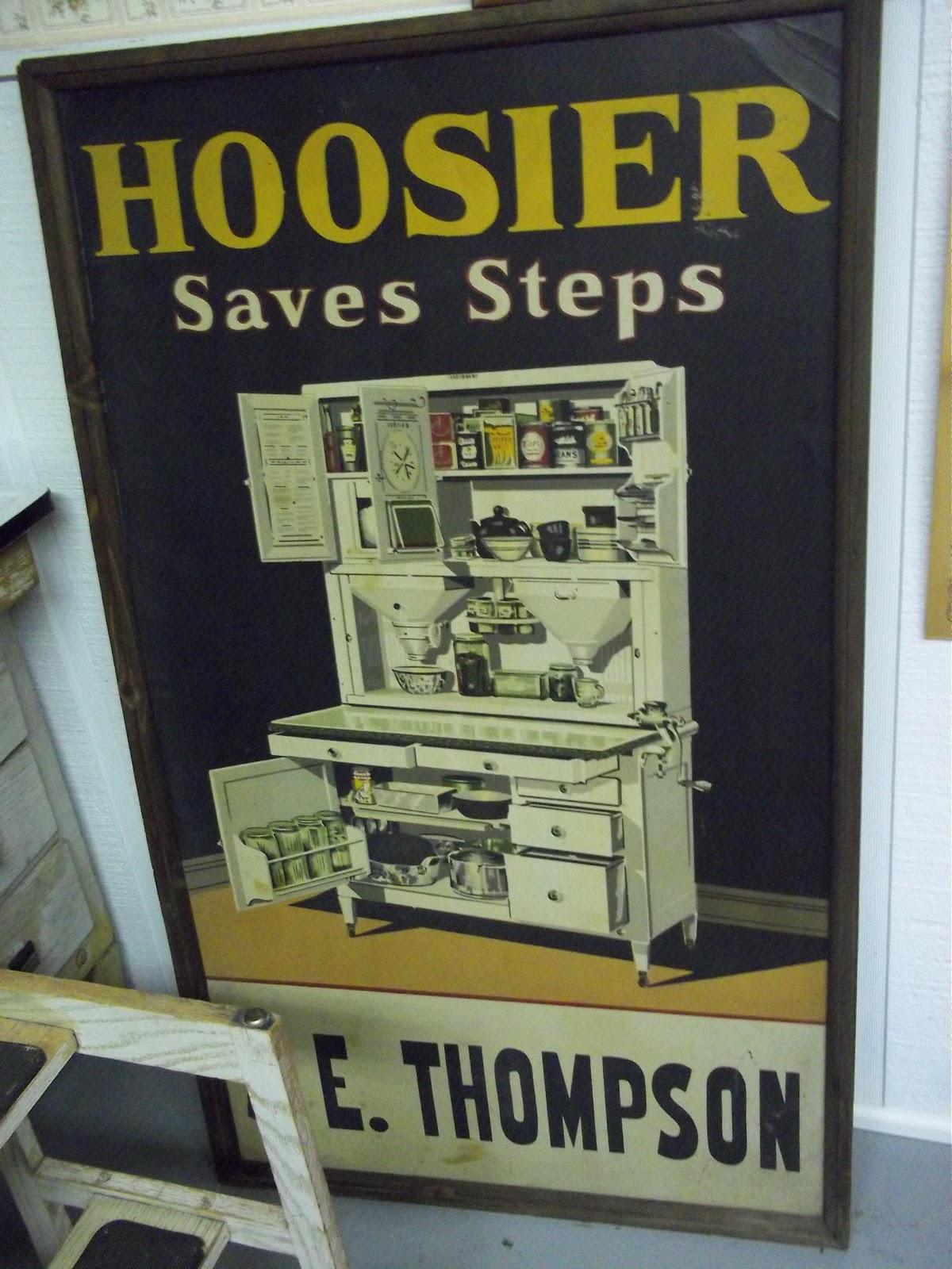 American homestead what is a hoosier cabinet