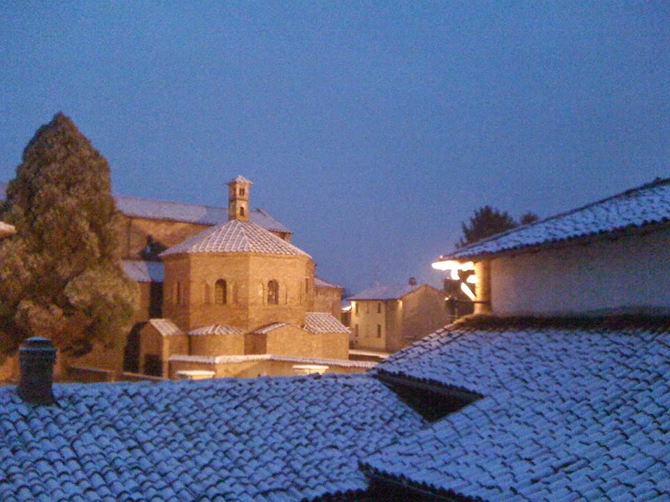 Nevicata a Lomello