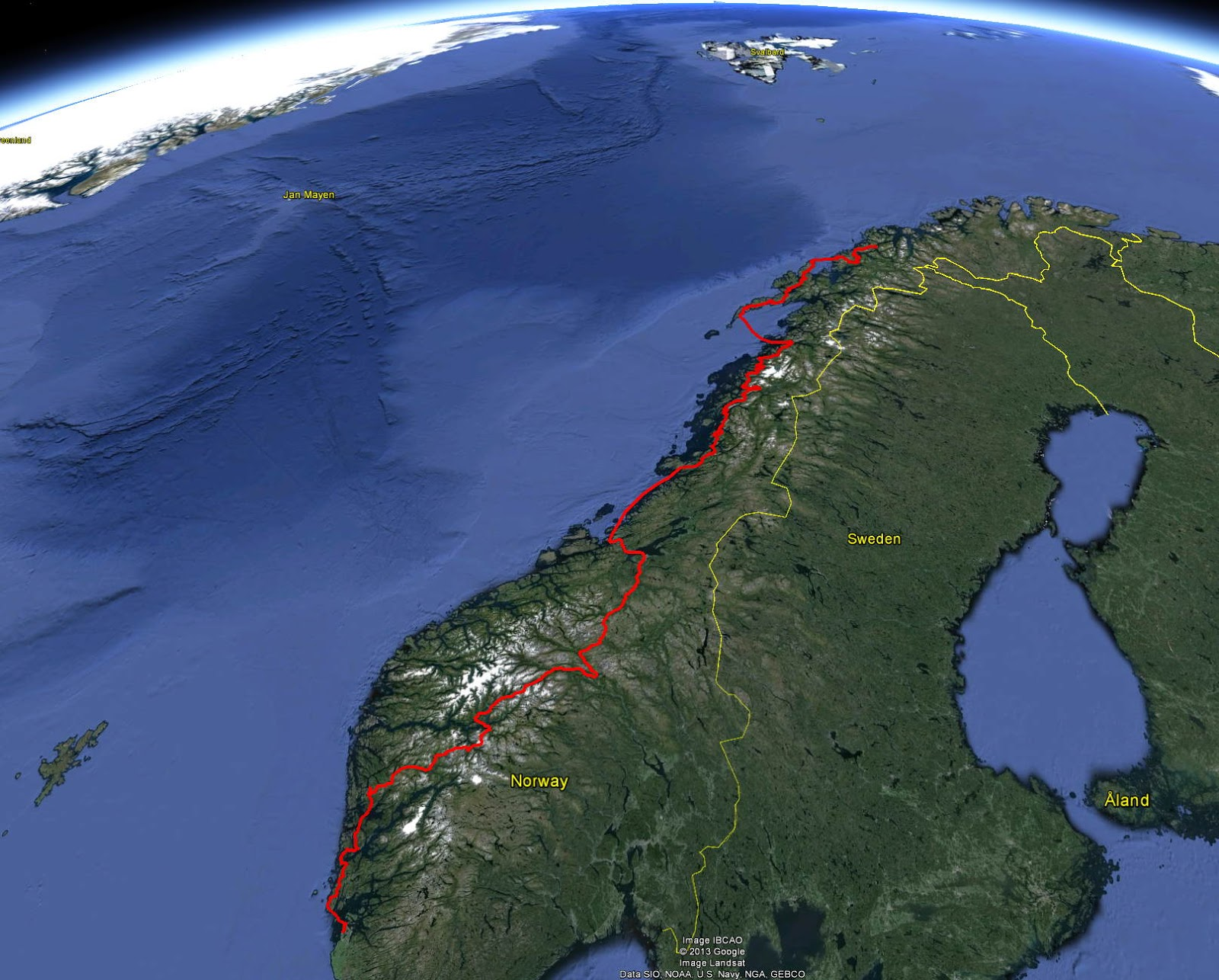 Decadence cycling the world gps files of our norway route gps file of our route for viewing in google earth kmz gumiabroncs Choice Image