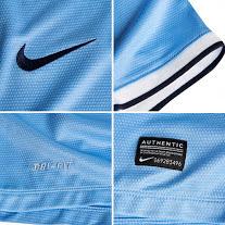 Nike Resmi Pamerkan Jersey Baru Manchester City Musim 2013-2014