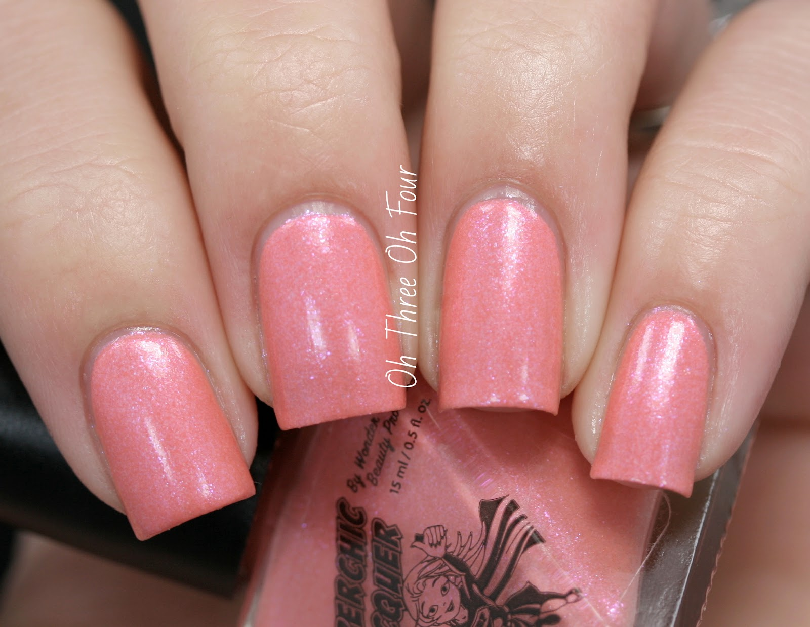 SuperChic Lacquer Lost My Melon Swatch