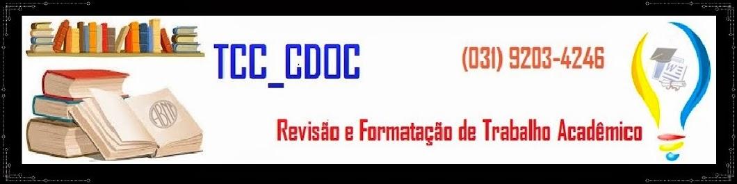 REVISÃO E FORMATAÇÃO DE TCC