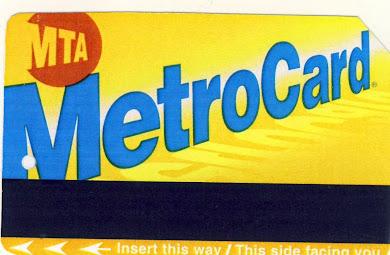 Κάρτα  του μετρό της Νέας Υόρκης  :