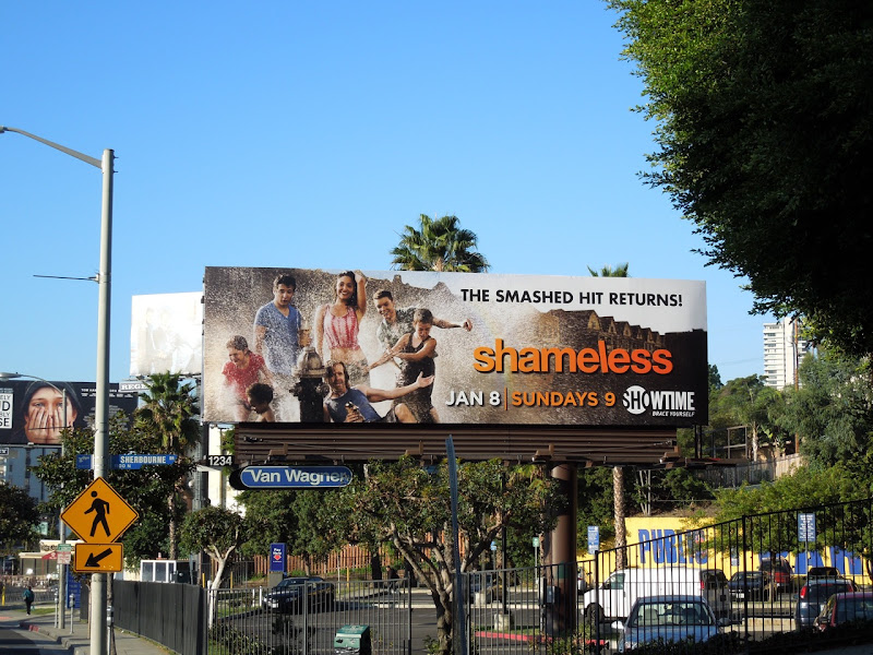 Shameless USA season 2 billboard