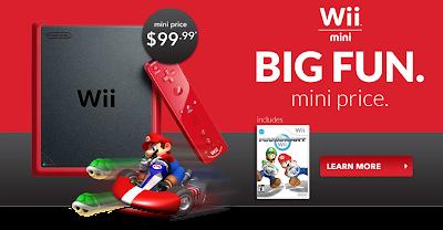 ราคา Wii Mini