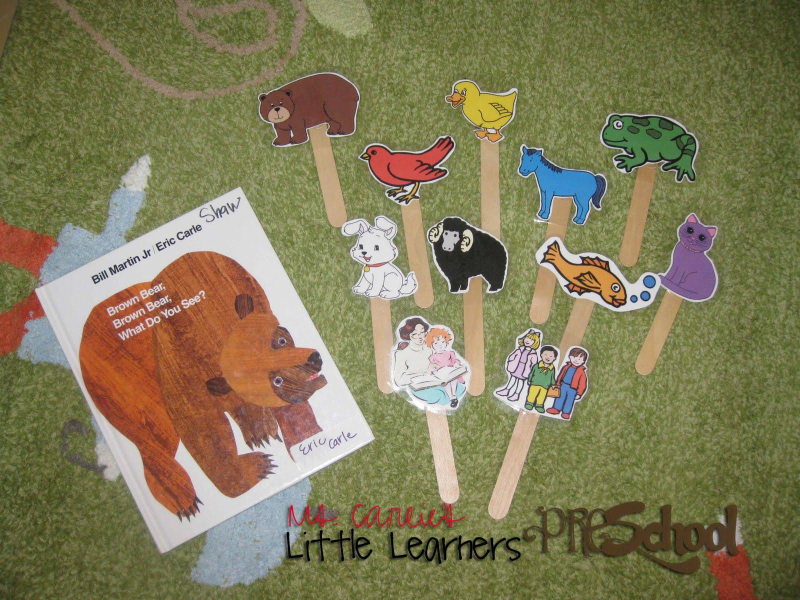 Ms Carlies Little Learners Preschool brown Bear Brown