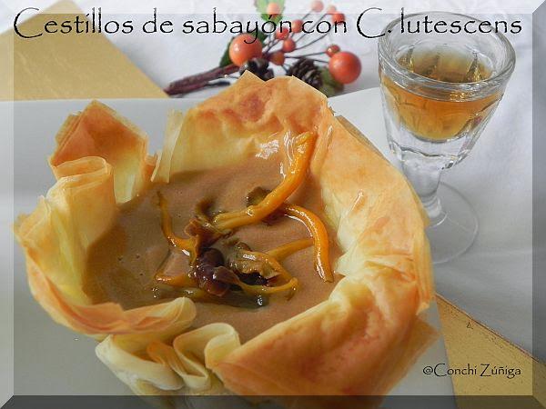http://cocinandosetas.blogspot.com.es/2013/01/cestillos-de-sabayon-con-c-lutescens.html