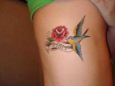Dicas de Fotos de Tatuagens Femininas Rosa