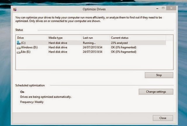 Cara Melakukan Defragmentasi Windows 7 & 8