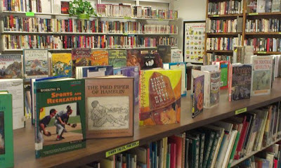 Children's area in the Friends Bookstore