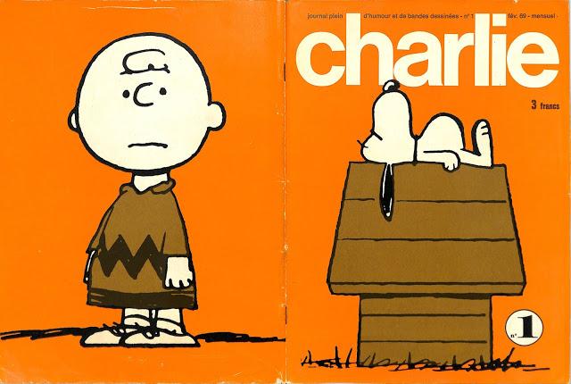 Charlie Mensuel 001-#152 et HS - Série Complète