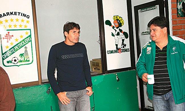 Oriente Petrolero - Ronald Raldes - Dorian Montero - DaleOoo.com página del Club Oriente Petrolero