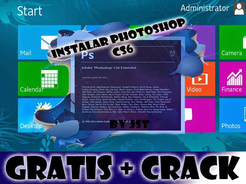 descargar photoshop cs6 español gratis para windows 10