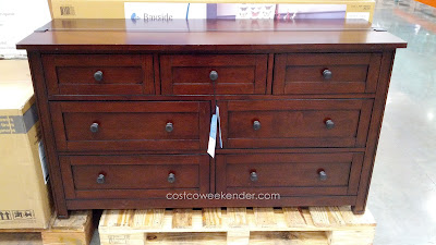 Keep your room looking clean and organized with the Bayside Furnishings Midland Dresser