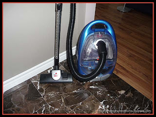 Bissell Opticlean cyclonic bagless vacuum cleaner