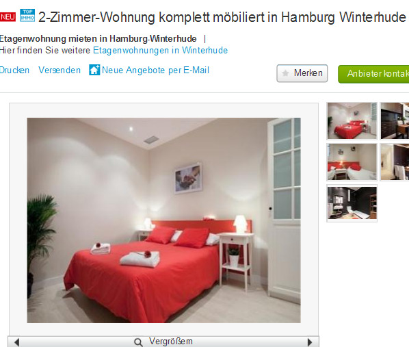 alias manuel weber 2 zimmer wohnung komplett m biliert in hamburg. Black Bedroom Furniture Sets. Home Design Ideas
