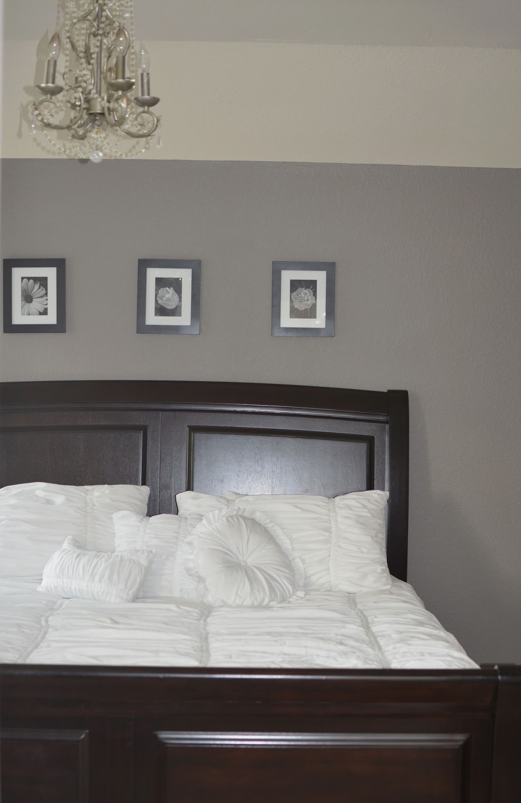 Behr Creek Bend. Grey Bedroom
