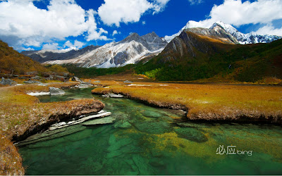 Beautiful Scenery in Southwest China Full HD Nature Background Wallpaper for Laptop Widescreen