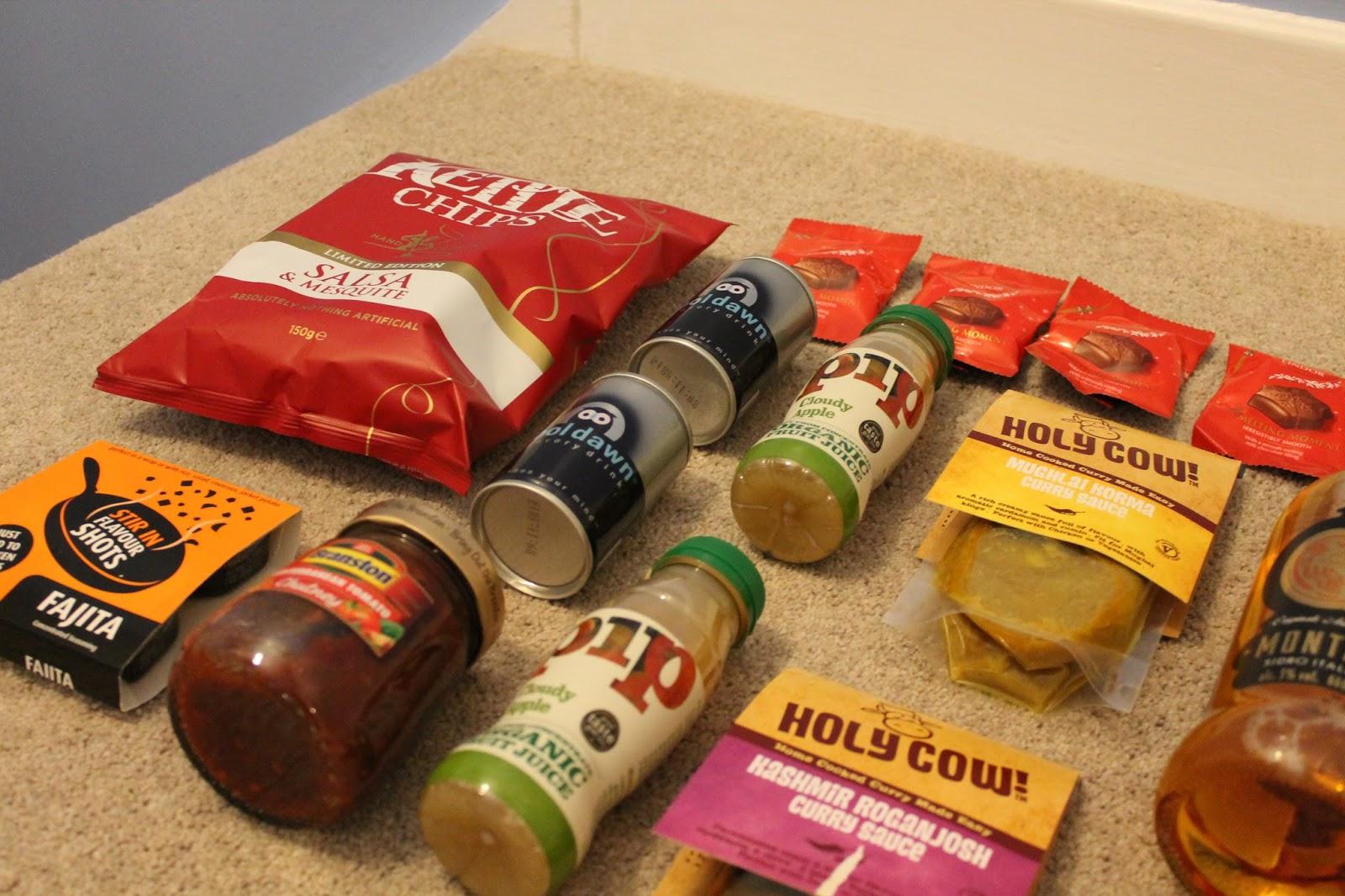 Degustabox UK November 2014 Monthly Subscription Box Contents
