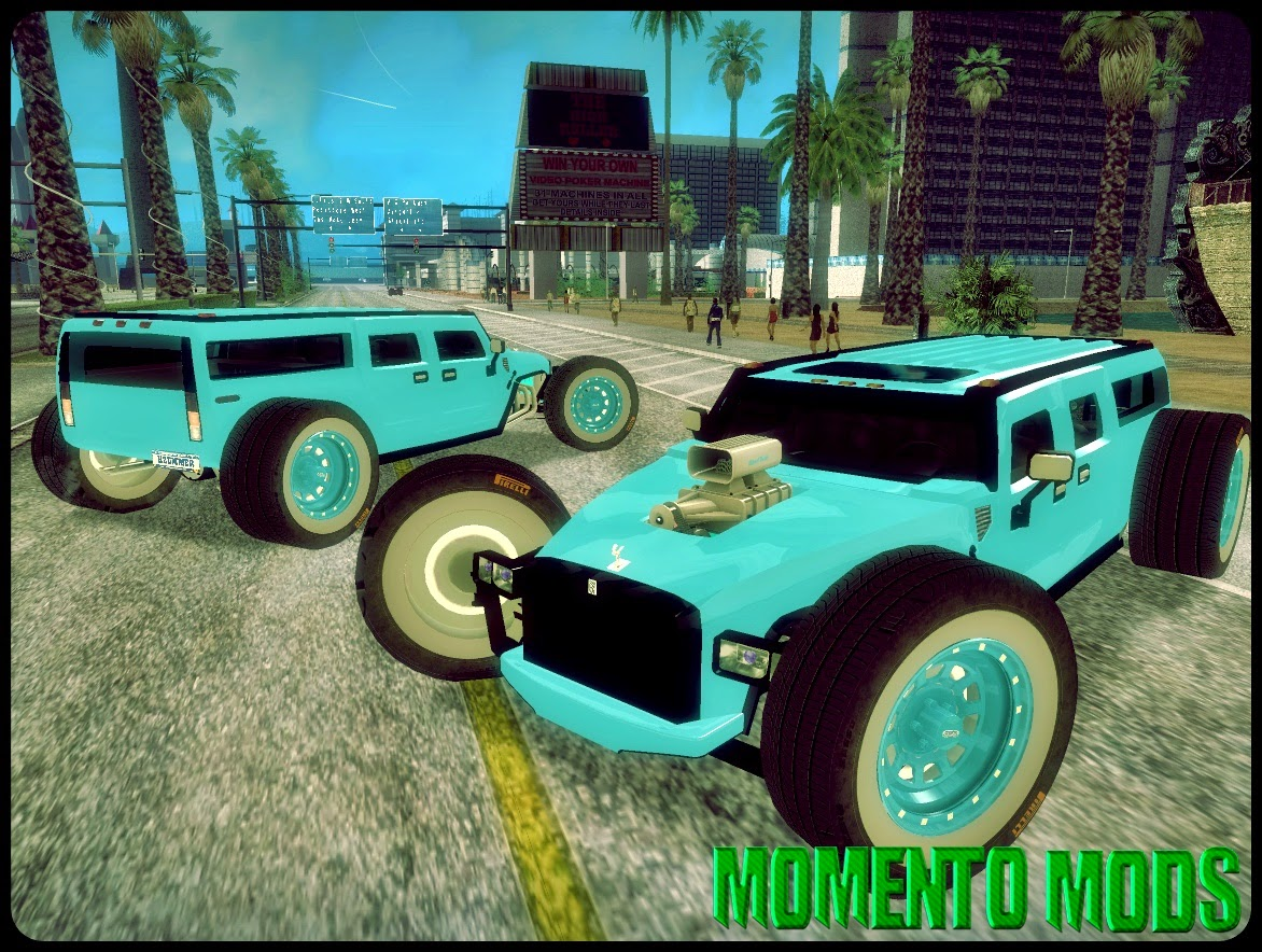 GTA SA - Hummer H2 The HumRod