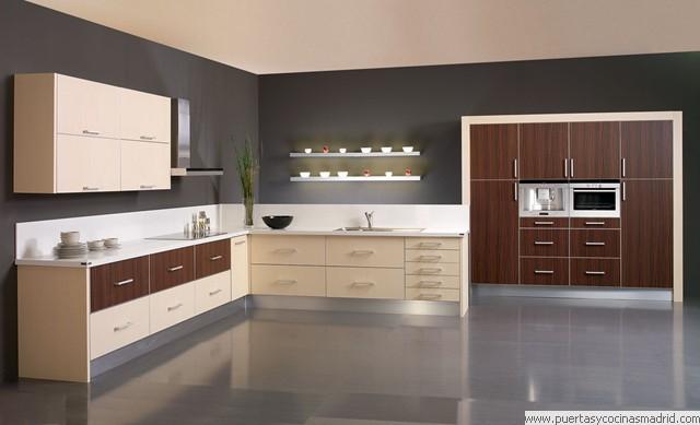 Muebles de cocina en forma de l top muebles de cocina en for Como disenar una cocina en forma de l
