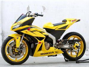 modifikasi motor blade 2009 terpopuler