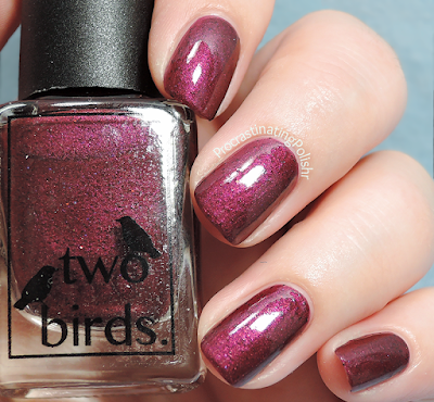 Two Birds Lacquer - Candidly Carmine