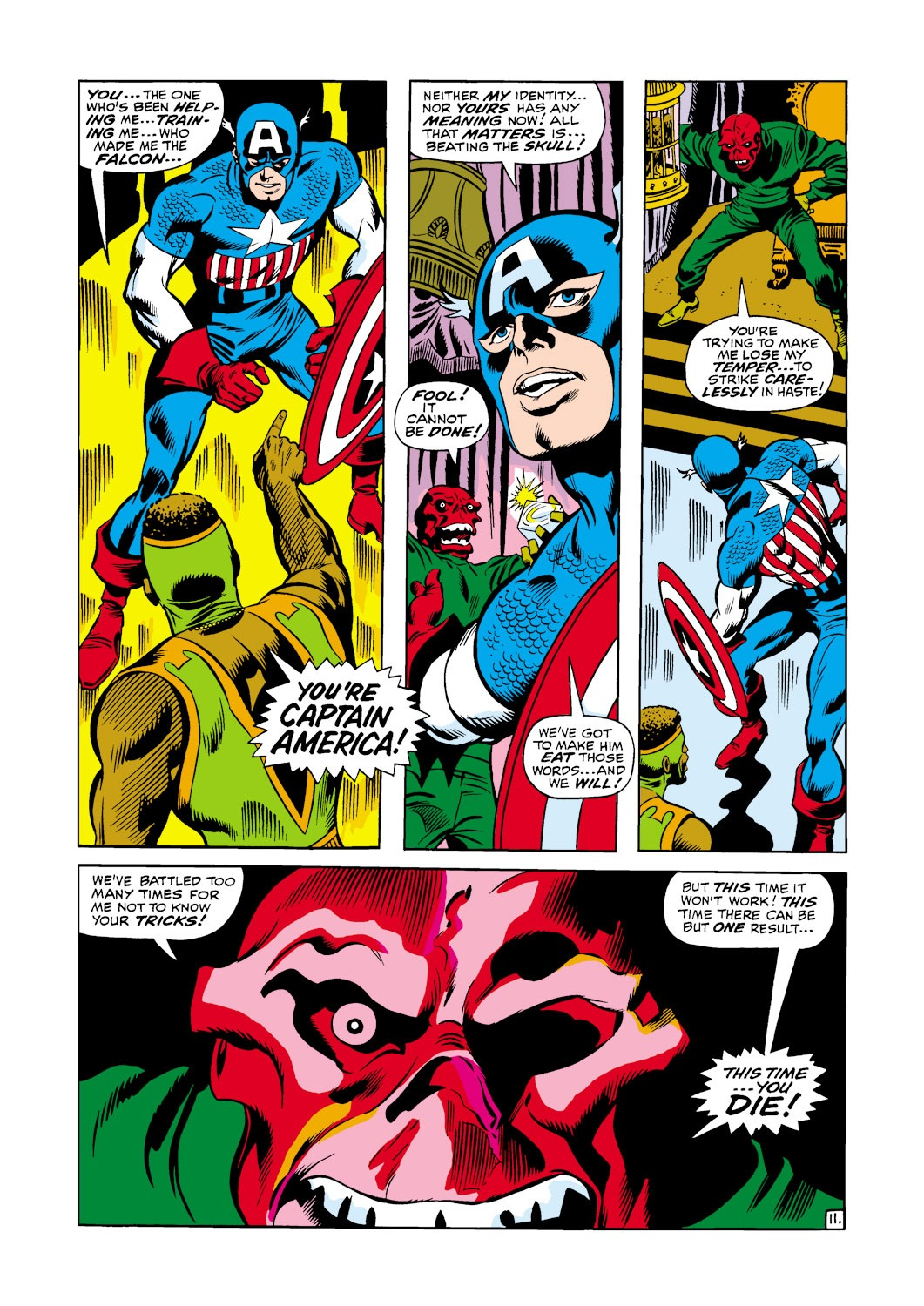 Captain America (1968) Issue #119 #33 - English 12