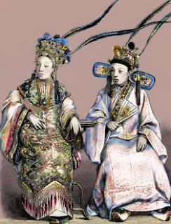 Concubinas imperiales. Hacia 1880