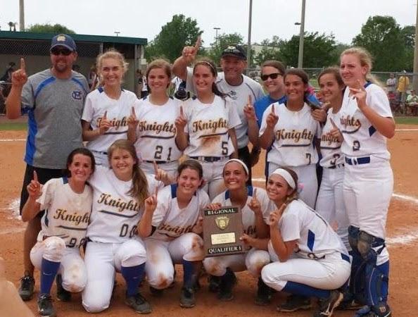 Montgomery Catholic's Varsity Softball Team Advances to the State Tournament 1