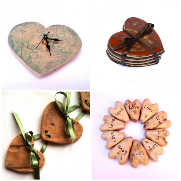 Hearts - Charlotte Hupfield Ceramics