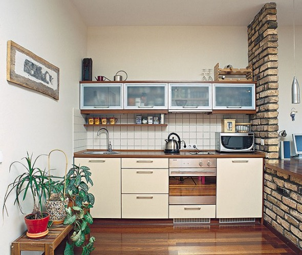 Very simple and easy simple designs for small kitchens for Kitchen design for small areas