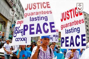 ျငိမ္းခ်မ္းေရး…. ဟိုး… အေဝးမွာ (၁+ ၂ + ၃) (Aung Din)