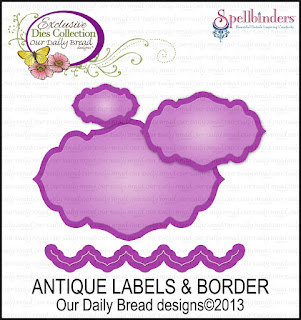 Our Daily Bread designs stamps, Antique Labels designs dies,