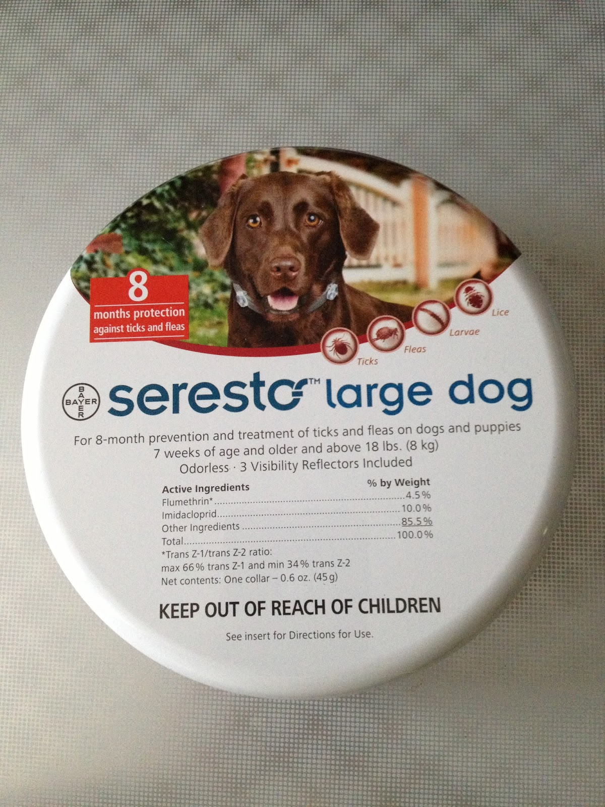Life With Beagle Review Seresto Collar Flea Treatment