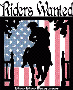 Riders WANTED