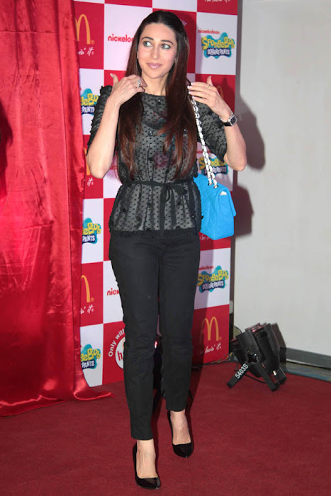 karisma kapoor launches spongebob squarepants happy meal glamour  images
