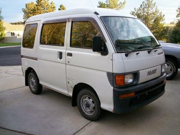1998 daihatsu hijet 4x4 micro van auto restorationice. Black Bedroom Furniture Sets. Home Design Ideas